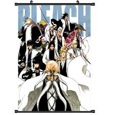 Anime Bleach Gotei 13 Pared Póster de desplazamiento Cosplay 2938