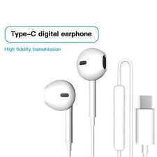 New Hands free ear phones for USB Type C for Samsung with Mic