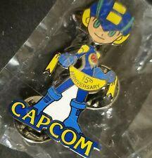 Promotional-only Capcom Mega Man 15th Anniversary Lapel Pin E3 2003 VERY RARE