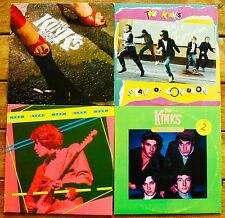 THE KINKS-Lot Of 4 Albums-LOW BUDGET•A COMPLEAT COLLECTION•ONE FOR THE ROAD