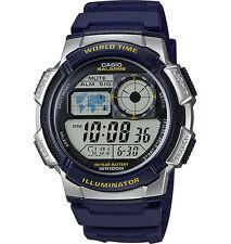 Casio AE1000W-2AV, Chronograph Watch, 5 Alarms, 10 Year Battery, World Time