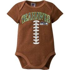 Seattle Seahawks NFL Baby Football Bodysuit, 0-3 Months, New With Tags