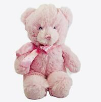 "Aurora Baby Yummy Bear Plush Pink 12"" New Stuffed Animal Baby Girl 20507 Teddy"