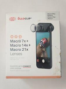 OLLOCLIP Macro 7X / Macro 14X / Macro 21X Lenses - NEW