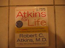 Robert C Atkins'  ATKINS FOR LIFE    CARB CONTROLLED PROGRAM,