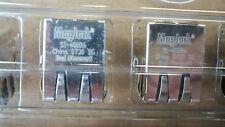 LOT OF 5 BEL STEWART MAGJACK SI-40086 CONNECTOR MODULES  1 PORT ETHERNET