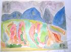 Aquarelle originale de Todorovitch (5)