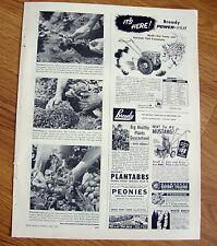 1953 Bready Power-Flo Tractor Ad  Walk Behind