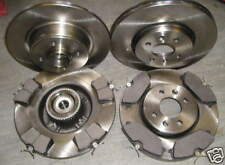 Renault Scenic Rx4 1.9 DCI Front Rear Brake Discs Pads 280mm 265mm 101BHP 3 MPV
