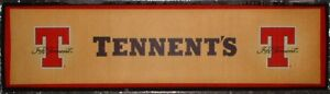 Tennent`s large Bar Runner New - SALE PRICE a Fiver