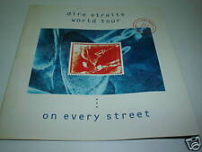 DIRE STRAITS On Every Street 1991 World Tour  Programme