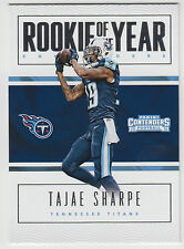TAJAE SHARPE 2016 Panini Contenders Rookie of the Year Contender #21 Titans