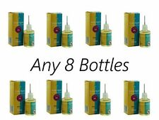 ANY 8x BOTTLES 10ml EZEE QUIT ORIGINAL LIQUID JUICE METAL NEEDLE CHILD PROOF