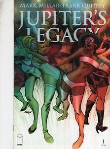 JUPITERS  LEGACY  1 -  JOHNSON VARIANT  - NETFLIX SERIES -  IMAGE COMICS