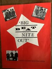 More details for big beat nite out k johnson promotions. animals kinks manfred mann sean buckley