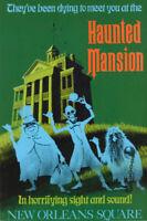 "Vintage Disneyland  Haunted Mansion 1969 Poster 8.5/"" x 11/"""