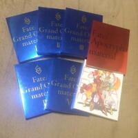 Fate/Grand Order Material I to V + apocrypha + extra art book 7 set japan fate