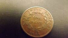 STRAITS SETTLEMENT  CENT 1845 NO 2