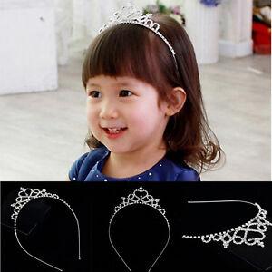 Princesse bandeau enfant partie mariée Couronne bandeau cristal diamant diadè.jk