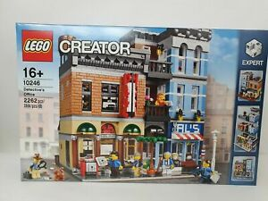 Hot sold Retired LEGO Creator Set 10246 Detective's Office New - Check Photos