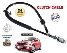für Daihatsu Sirion 1.0 12V M100 DVVT 1998-2005 NEU Kupplungszug 3134097201000