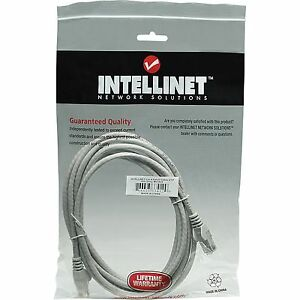 Intellinet Cat6 Network Patch Cables 0.5m/1m/2m Grey/Red/Blue Pack of 1/5/10 lot