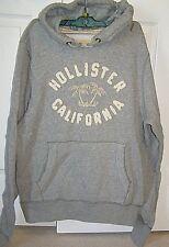 Hollister Mens L GraySweatshirt Hoodie Jacket New w/tags $49.50 Palm trees