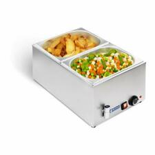More details for royal catering professional bain marie electric food warmer buffet tray steel