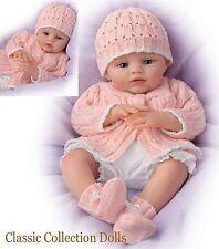 """Ashton Drake """"ABBY ROSE""""-LIFELIKE NEWBORN BABY GIRL DOLL-POSEABLE-NEW-IN STOCK"""