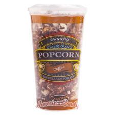 1250g Crunchy Coffee Popcorn (10x 125g Becher) mit Kaffeerüberzug