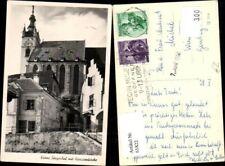 61822,Krems a.d. Donau Sängerhof mit Piaristenkirche Kirche