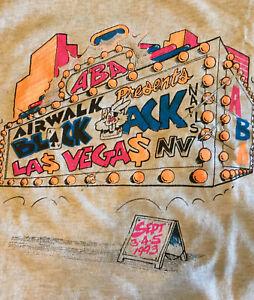 ABA BMX Shirt XL 1993 Vintage Las Vegas Blackjack Nationals USABMX NBL