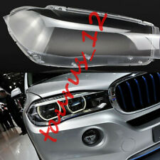 For BMW X5 2014-2018 1Pcs Right Side Headlight Cover transparent Pc With Glue-J