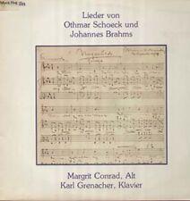 Schoeck/Brahms-Canzoni-RARE LP Jecklin, Margrit Conrad, Karl Grenacher