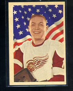 1963-63 Parkhurst Terry Sawchuk #53 Detroit Red Wings Hall of Fame Goalie Sweet!