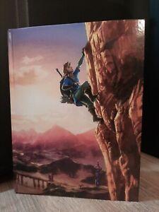 Guida Zelda Breath of the Wild da Collezione Strategica Nintendo ITA Italiana