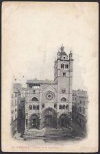 AX3899 Genova 1905 - Chiesa di San Lorenzo - Cartolina postale - Postcard