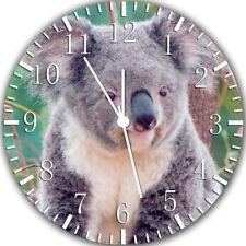 Ours Koala Frameless sans Bords Horloge Murale Nice pour Cadeaux ou Décor Y85