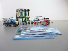 LEGO 60140 CITY: BANK RAID *100% COMPLETE WITH INSTRUCTIONS*