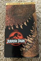 Jurassic Park (VHS, Collector's Edition) 2 tape set 1993 Spielberg