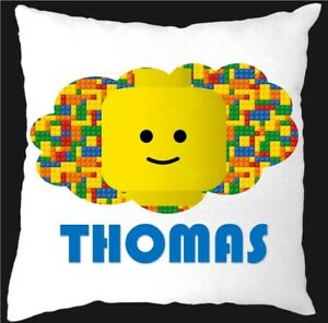 PERSONALISED LEGO CUSHION COVER ONLY