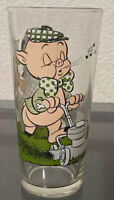 1976 Pepsi Petunia & Porky Pig Collector's Glass Cup