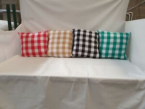 WATER RESISTANT CUSHIONS PERFECT FOR GARDEN-OUTDOOR FURNITURE