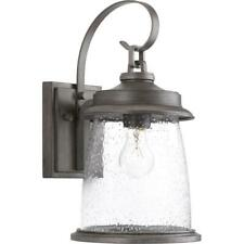 Progress Lighting Conover 1-Light Antique Pewter Outdoor Wall Mount Lantern
