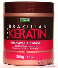Brazilian Keratin Intensive Hair Mask Nunaat -Complete Hair recovery - 500 Grams
