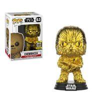 Star Wars Celebration 2019 Exclusive Chewbacca GOLD CHROME Pop! Vinyl Figure