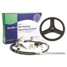 Seastar Ss13714 Quick-Connect Boat Steering w Cable 14' Helm-Plastic Steer Wheel