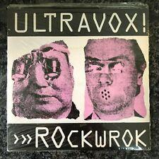 "ULTRAVOX Rockwrok / Hiroshima Mon Amour 7"" 1981 Island EARLY UK PRESS SEALED"