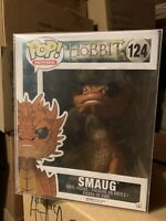 FUNKO POP! Smaug *NEW Protector 6 Inch Vaulted Hobbit LOTR EYES Dragon