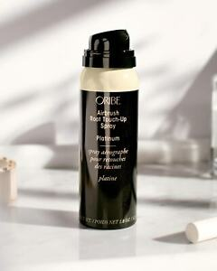 Oribe Airbrush Root Touch Up Spray Platinum New Big Size 1.8 oz